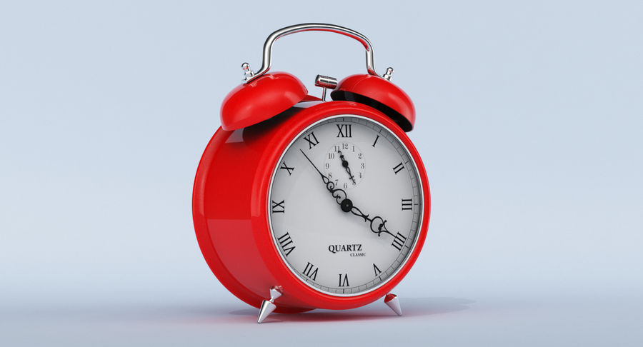 Alarm Clock royalty-free 3d model - Preview no. 3