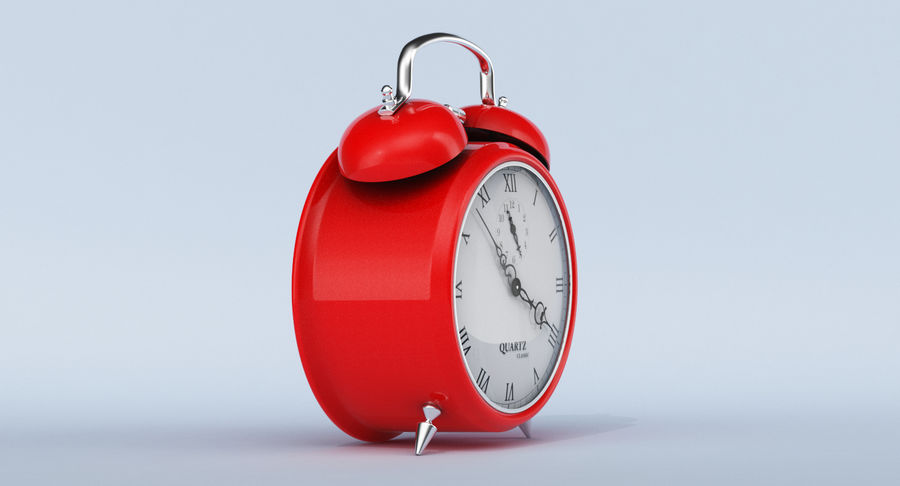 Alarm Clock royalty-free 3d model - Preview no. 4