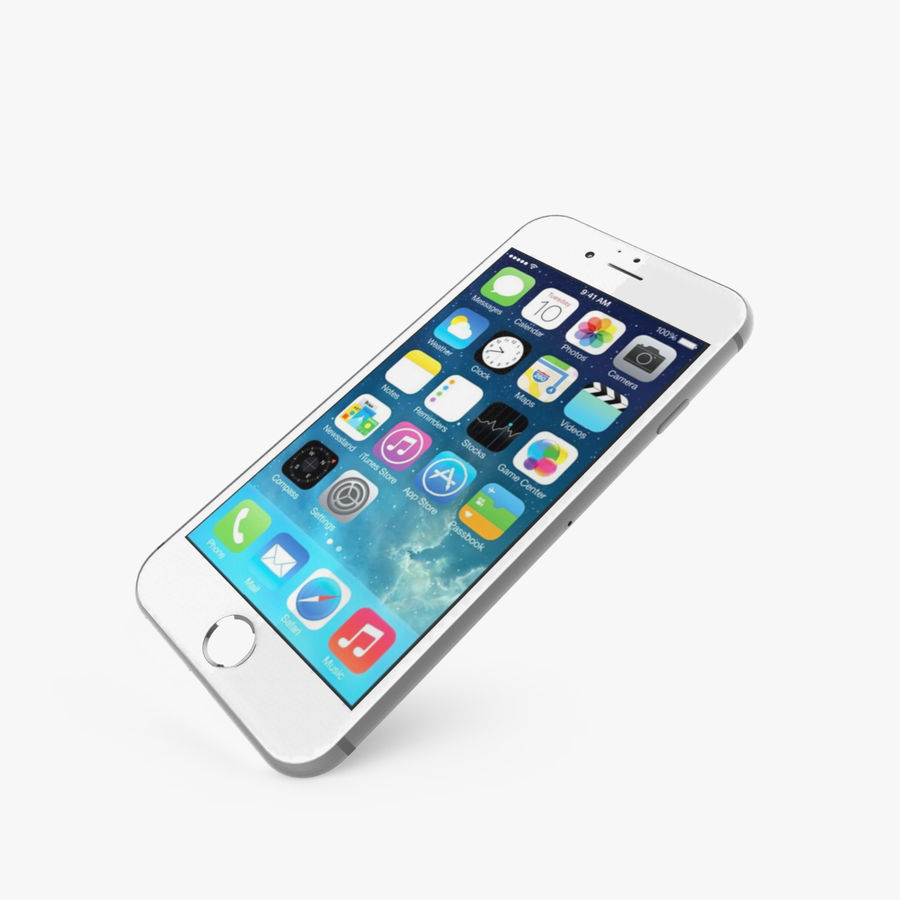 Apple iPhone 6s royalty-free 3d model - Preview no. 3