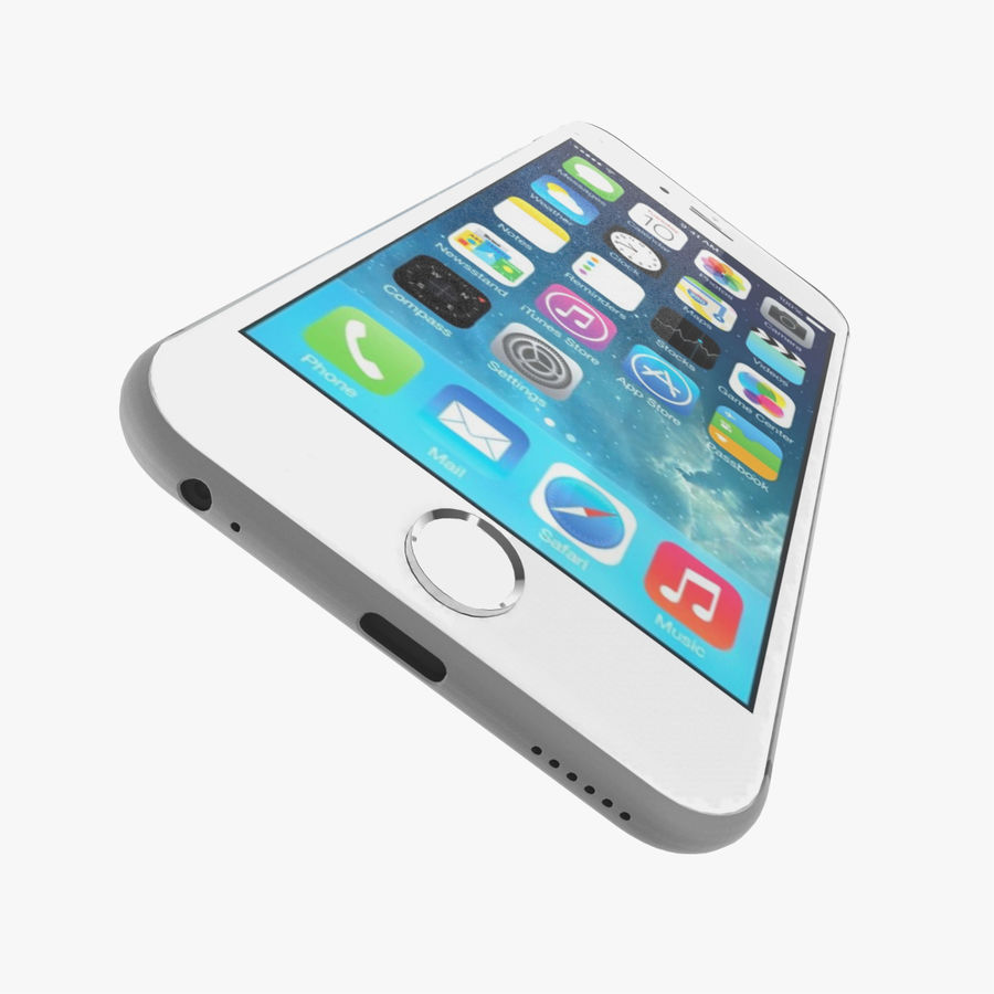 Apple iPhone 6s royalty-free 3d model - Preview no. 6