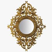 Espelho Clássico 3d model