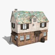 Gamla huset 1 3d model