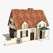 Vieille maison 2 3d model