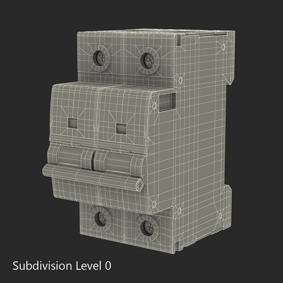 Şalter royalty-free 3d model - Preview no. 13