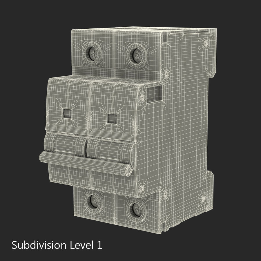 Şalter royalty-free 3d model - Preview no. 14