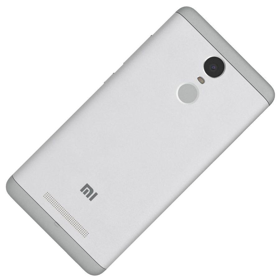 Xiaomi Redmi Note 3 Silver royalty-free 3d model - Preview no. 24