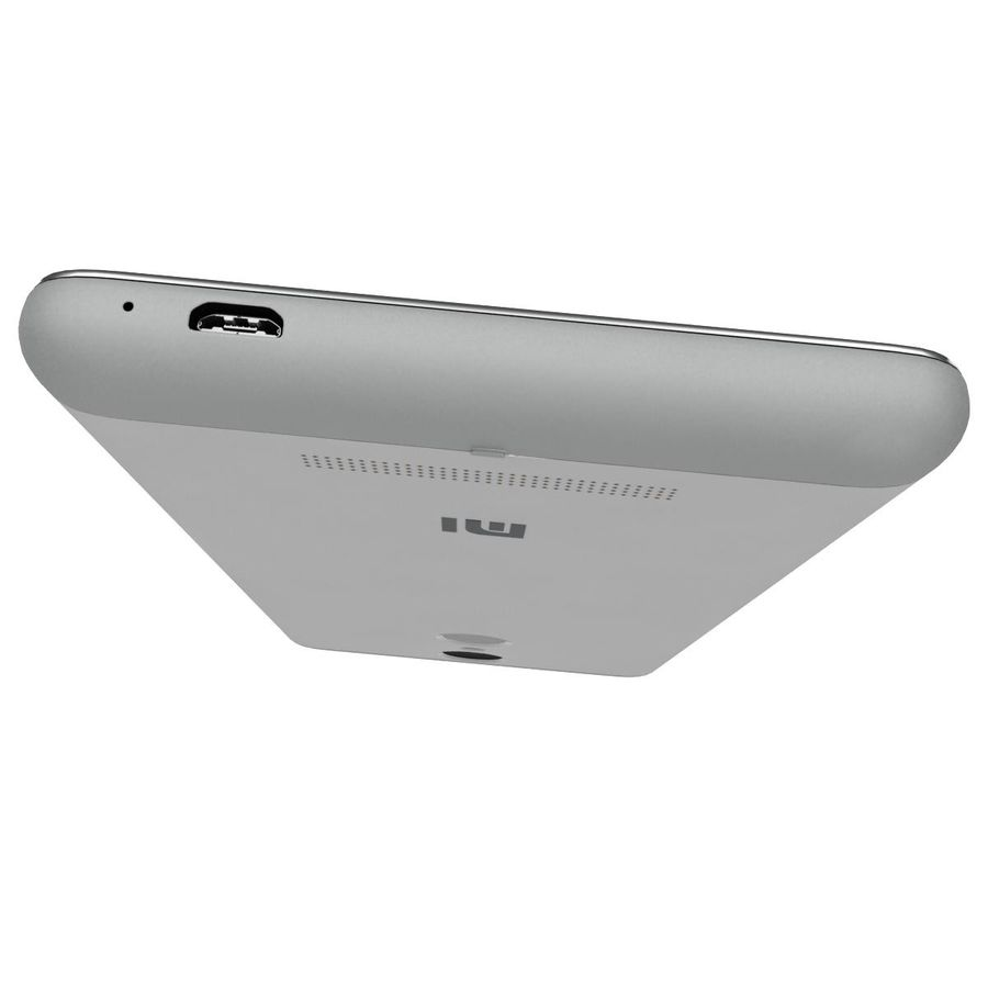 Xiaomi Redmi Note 3 Silver royalty-free 3d model - Preview no. 14