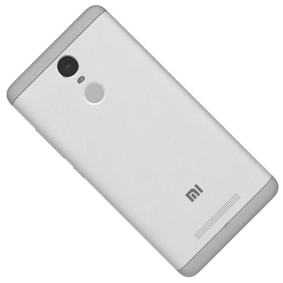 Xiaomi Redmi Note 3 Silver royalty-free 3d model - Preview no. 21