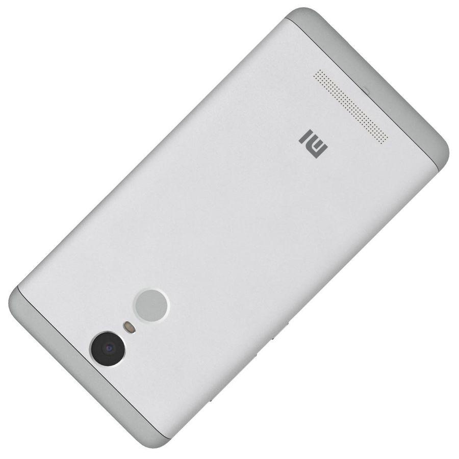 Xiaomi Redmi Note 3 Silver royalty-free 3d model - Preview no. 28