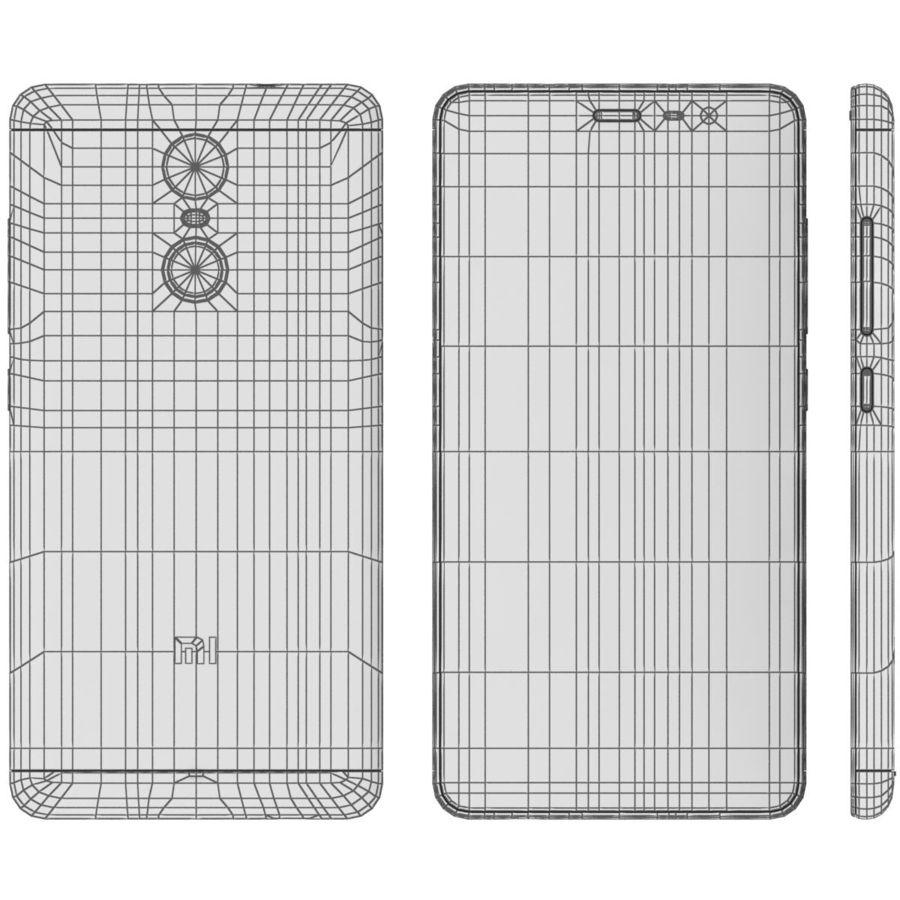 Xiaomi Redmi Note 3 Silver royalty-free 3d model - Preview no. 19