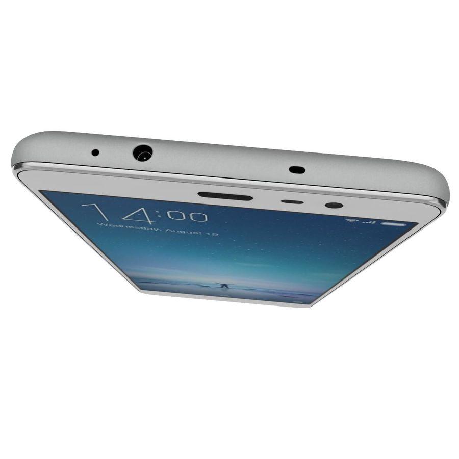 Xiaomi Redmi Note 3 Silver royalty-free 3d model - Preview no. 11