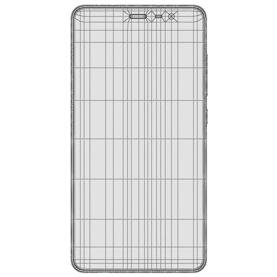 Xiaomi Redmi Note 3 Silver royalty-free 3d model - Preview no. 25