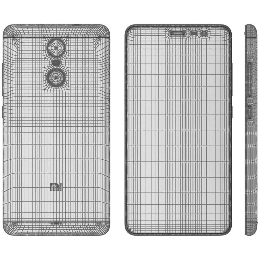 Xiaomi Redmi Note 3 Silver royalty-free 3d model - Preview no. 22