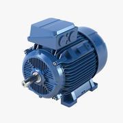 Motor eléctrico modelo 3d