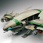 Razorbug (Sci Fi Fighter) 3d model
