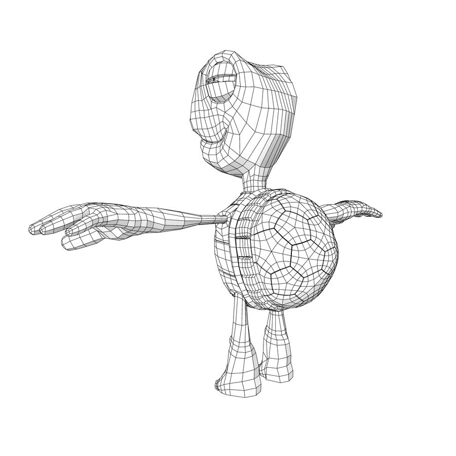 Young Turtle Tortoise model royalty-free 3d model - Preview no. 8