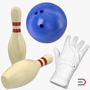 Bowling 3D Models Collection 2 3d model