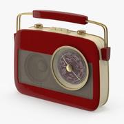 Radio de transistores modelo 3d