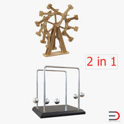 Perpetual Motion Machines Rigged 3D Models Collection 3d model