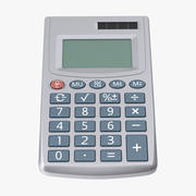 Pocket Calculator 3d model
