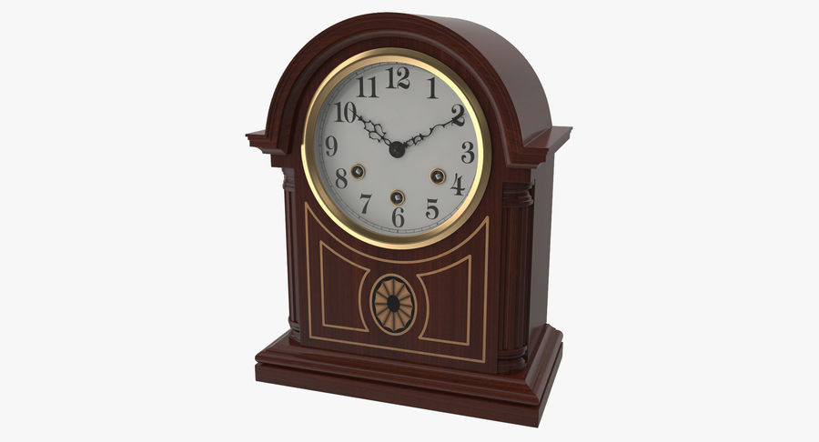 Horloge de table royalty-free 3d model - Preview no. 2