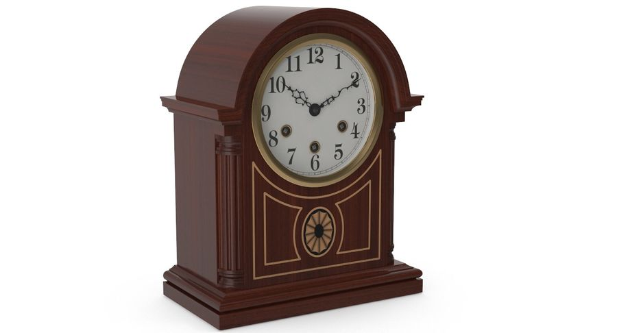 Horloge de table royalty-free 3d model - Preview no. 4