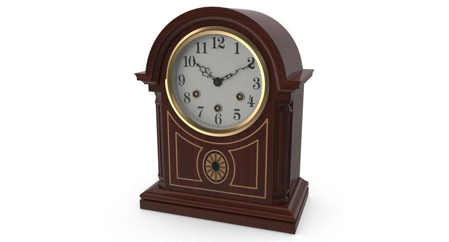 Настольные часы royalty-free 3d model - Preview no. 3