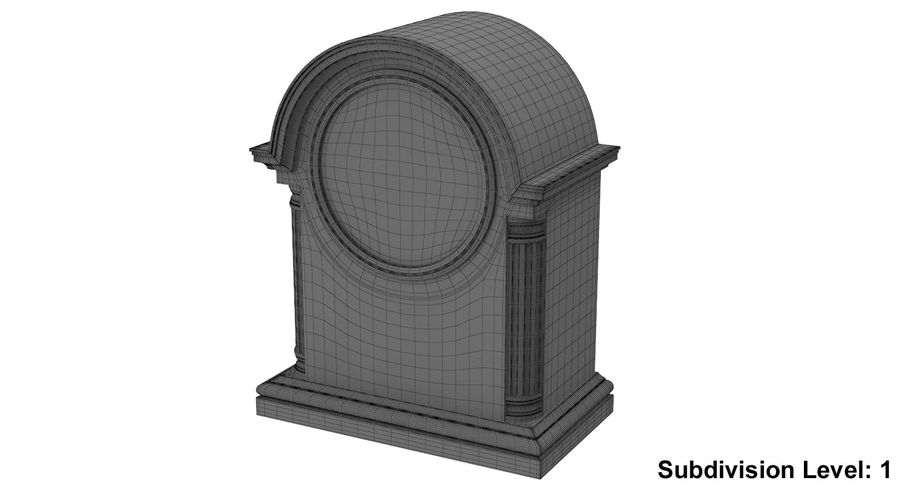 Horloge de table royalty-free 3d model - Preview no. 11