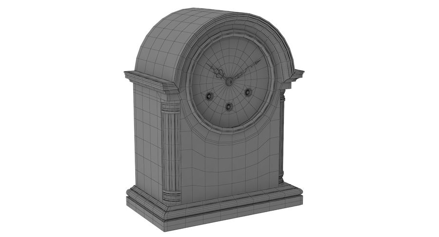 Horloge de table royalty-free 3d model - Preview no. 14