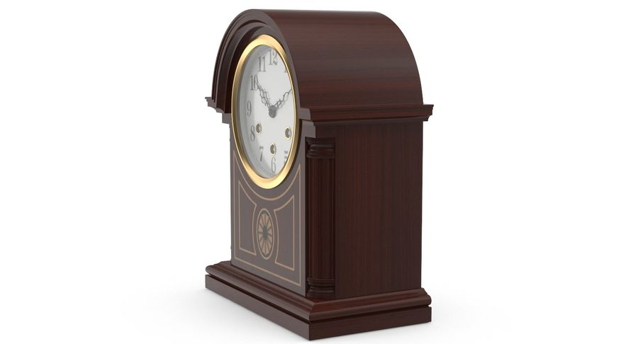 Horloge de table royalty-free 3d model - Preview no. 5