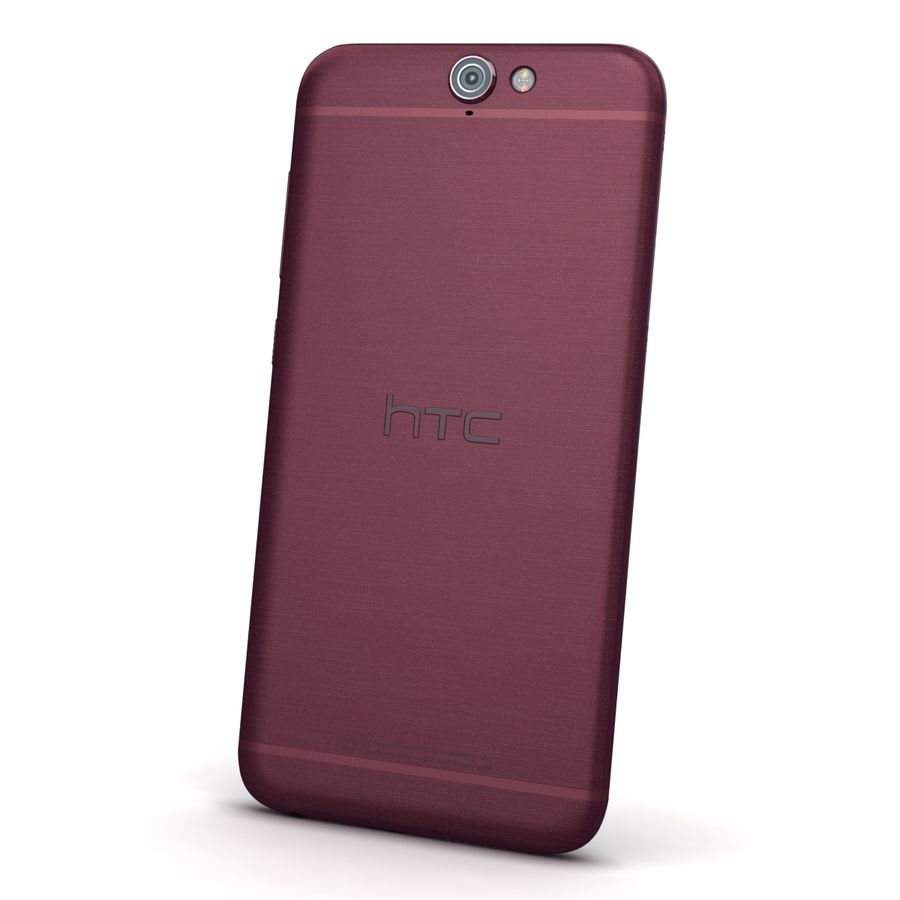 HTC One A9 Deep Garnet royalty-free 3d model - Preview no. 5