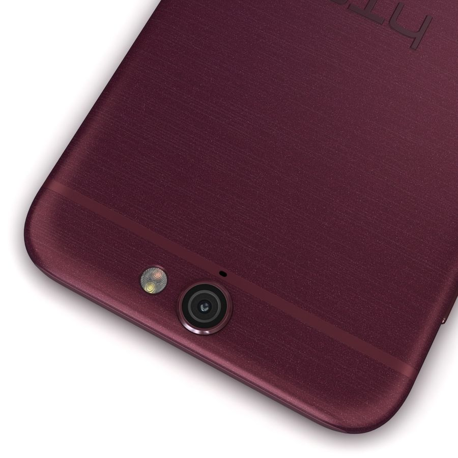 HTC One A9 Deep Garnet royalty-free 3d model - Preview no. 14