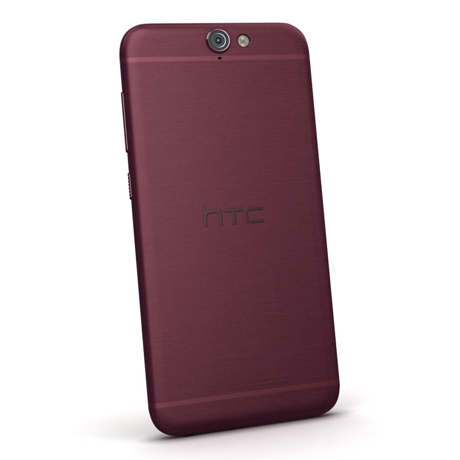 HTC One A9 Deep Garnet royalty-free 3d model - Preview no. 6
