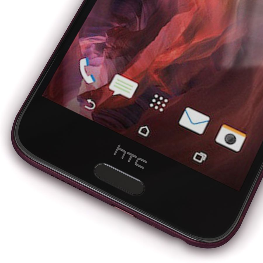 HTC One A9 Deep Garnet royalty-free 3d model - Preview no. 9