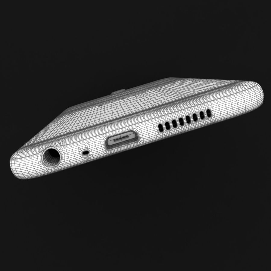 HTC One A9 Deep Garnet royalty-free 3d model - Preview no. 38
