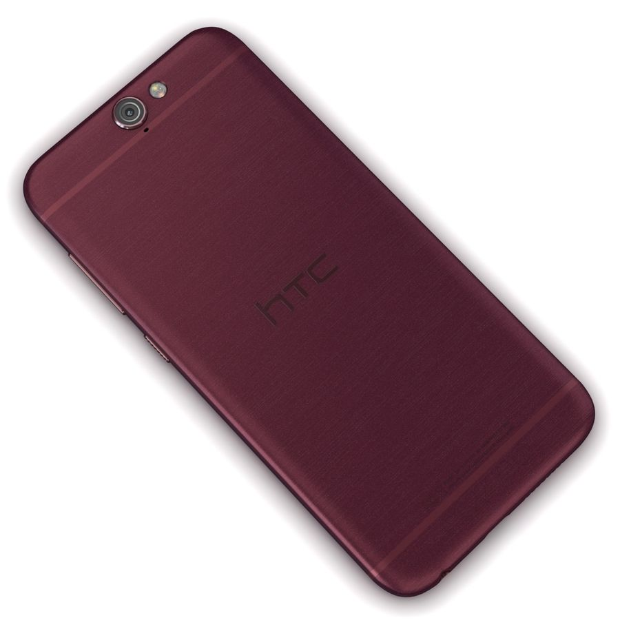 HTC One A9 Deep Garnet royalty-free 3d model - Preview no. 11