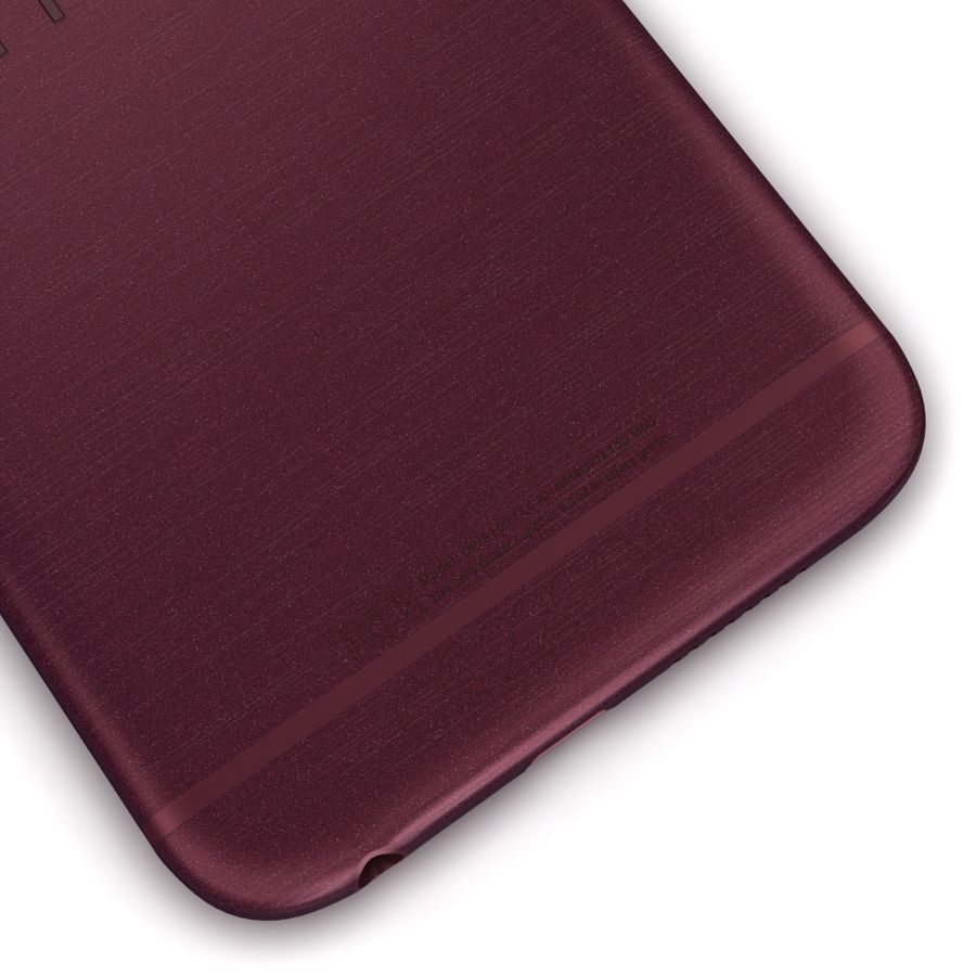 HTC One A9 Deep Garnet royalty-free 3d model - Preview no. 13