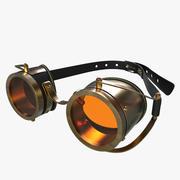 Gogle Steampunk 3d model