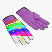 Goalie Gloves Puma 3D Model 3d model