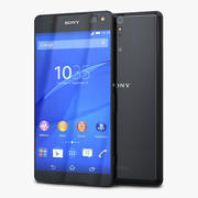 Sony Xperia C5 Ultra Black 3d model