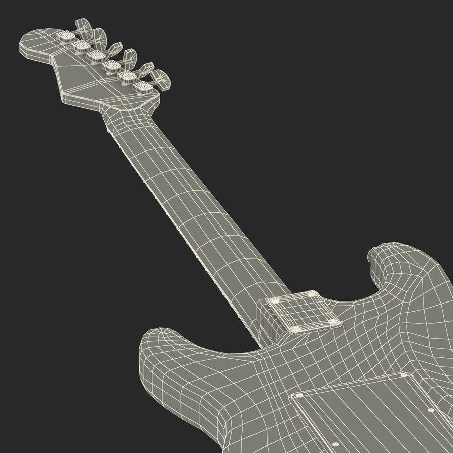 Elektrische Gitarre royalty-free 3d model - Preview no. 50
