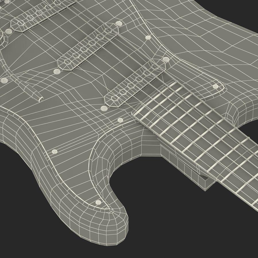 Elektrische Gitarre royalty-free 3d model - Preview no. 46