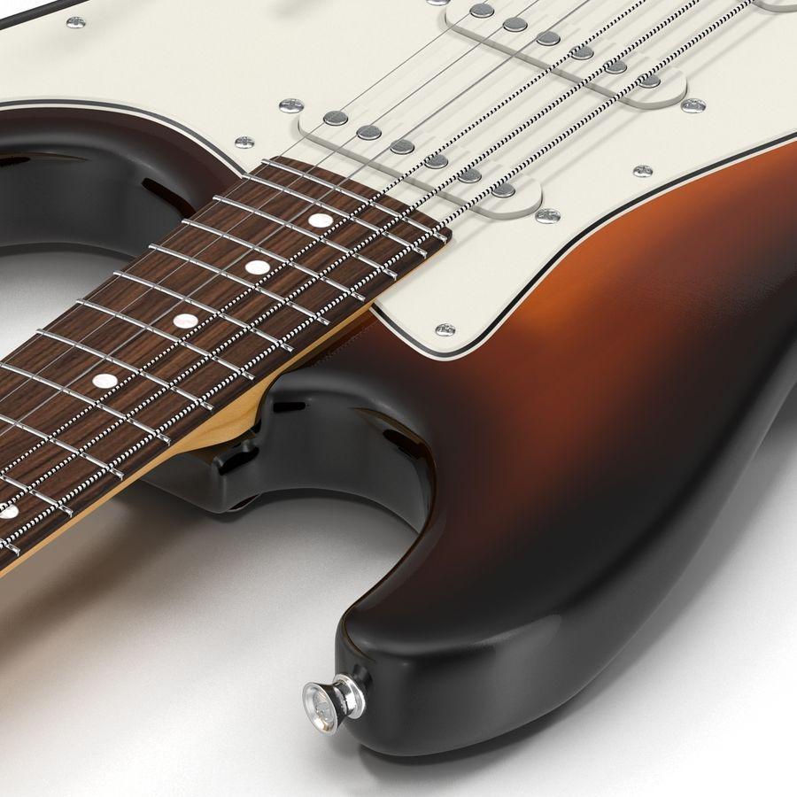 Elektrische Gitarre royalty-free 3d model - Preview no. 21