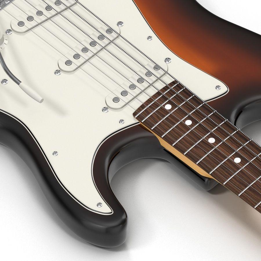 Elektrische Gitarre royalty-free 3d model - Preview no. 20