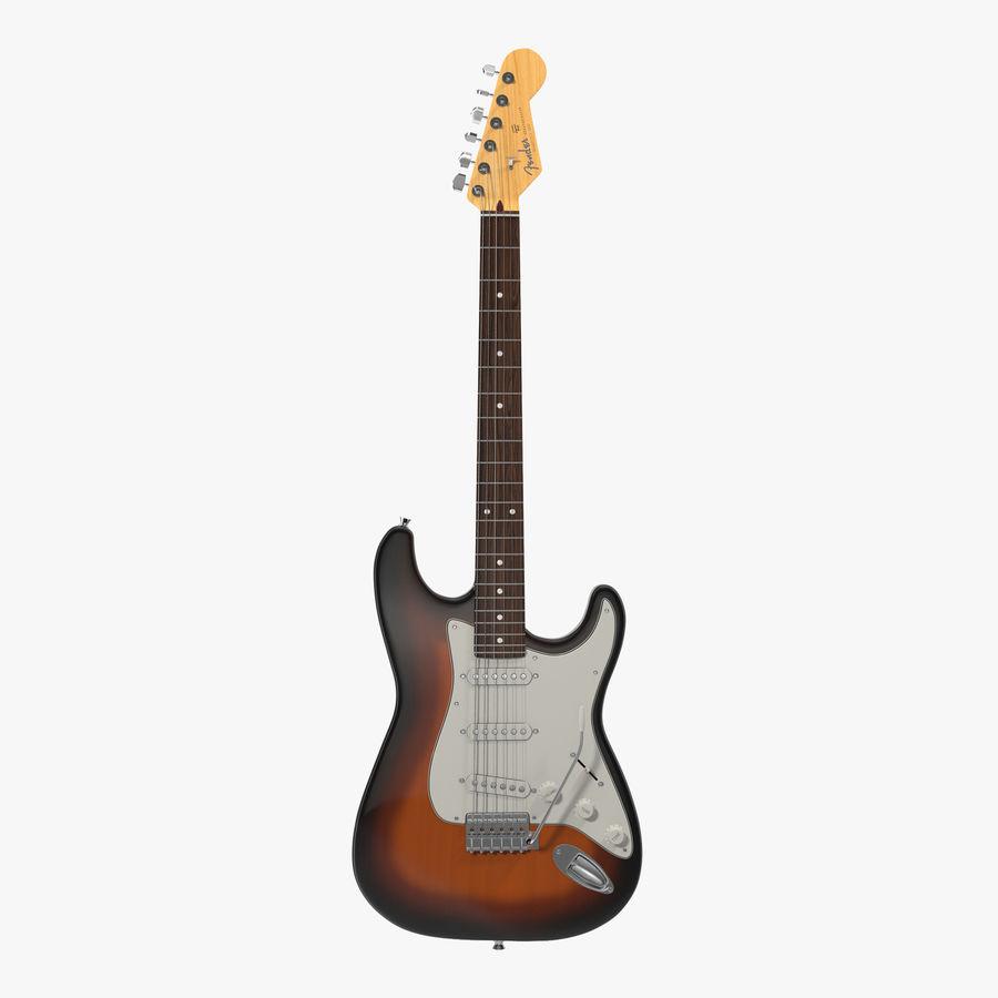 Elektrische Gitarre royalty-free 3d model - Preview no. 1