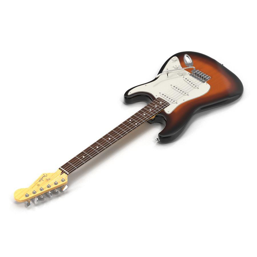 Elektrische Gitarre royalty-free 3d model - Preview no. 5