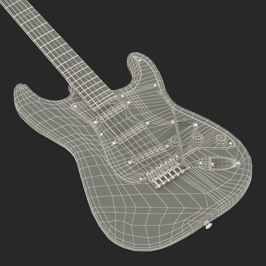 Elektrische Gitarre royalty-free 3d model - Preview no. 41