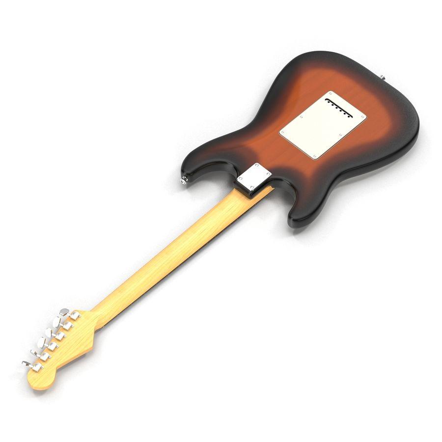 Elektrische Gitarre royalty-free 3d model - Preview no. 8