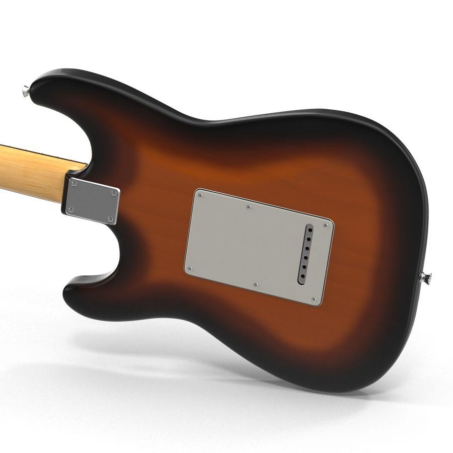 Elektrische Gitarre royalty-free 3d model - Preview no. 14