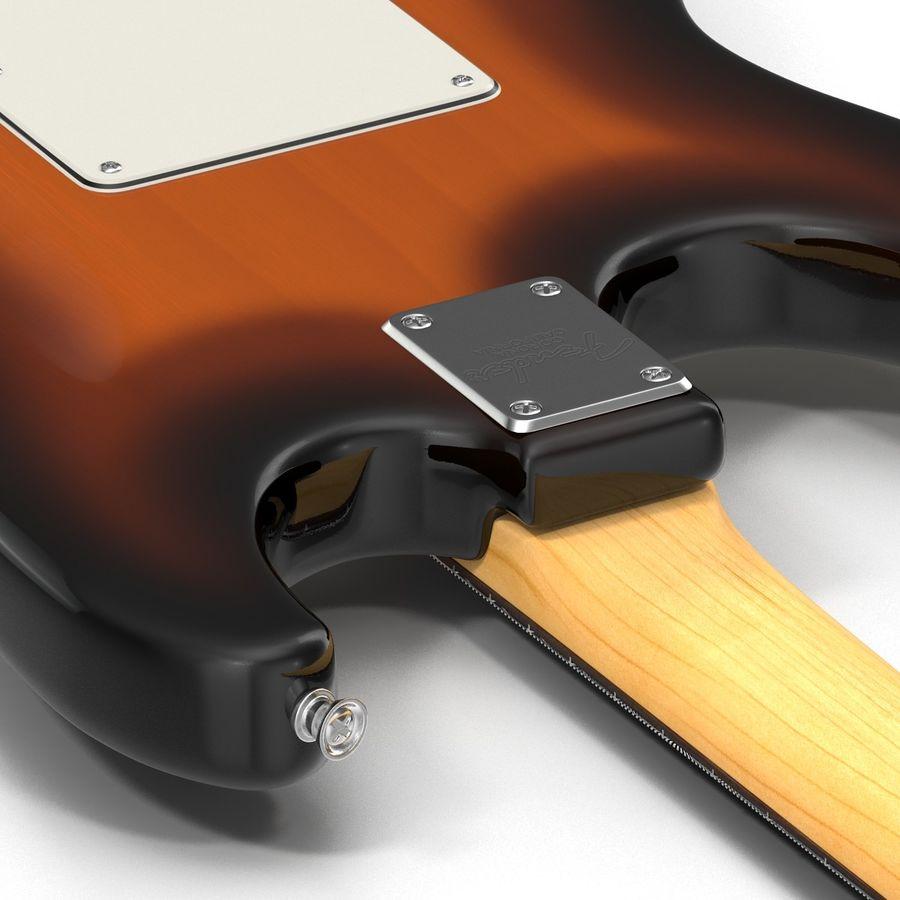 Elektrische Gitarre royalty-free 3d model - Preview no. 27